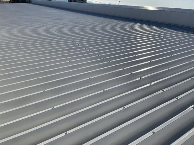 愛知県豊橋市 工場の屋根の塗装