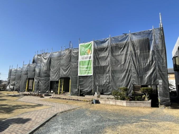 浜松市東区 I様邸の外壁塗装工事