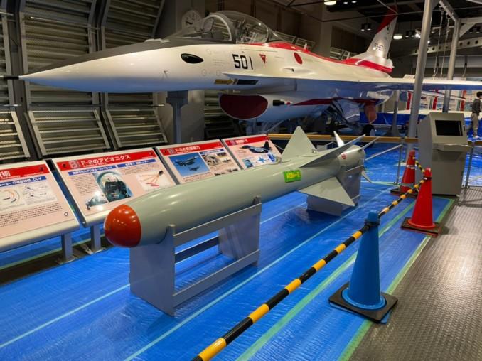 航空自衛隊浜松広報館での模型の塗り替え