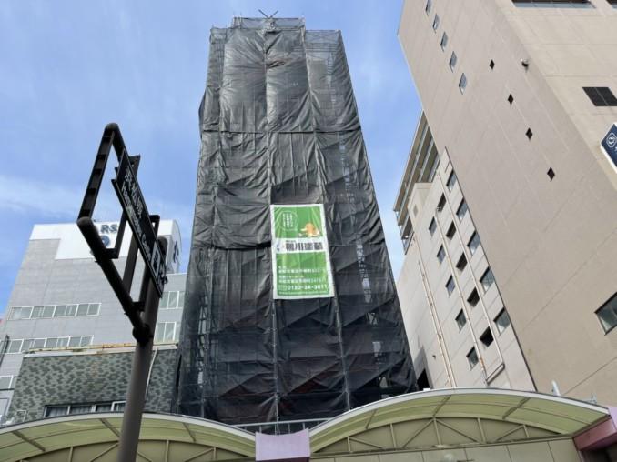 浜松市中区 ビルの塗装・防水工事