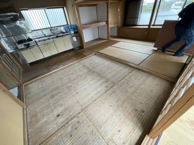 浜松市東区 K様邸の内部改修工事