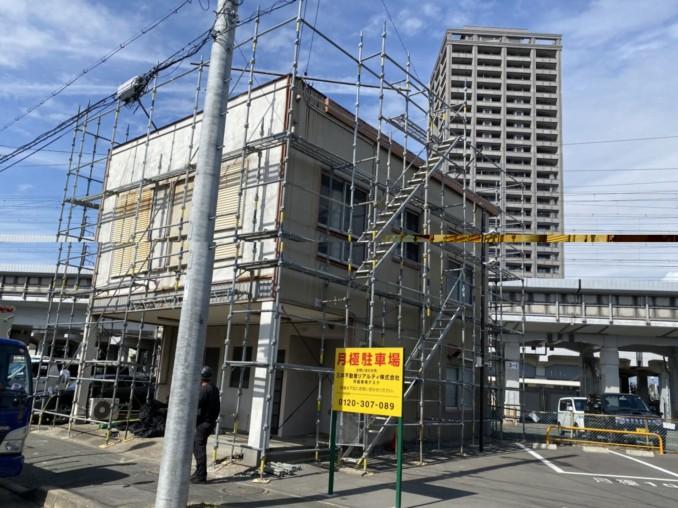 浜松市中区 S様邸の外壁貼り替え