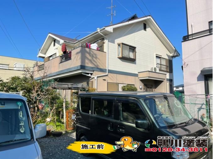 浜松市東区S様邸 外壁・屋根塗装工事