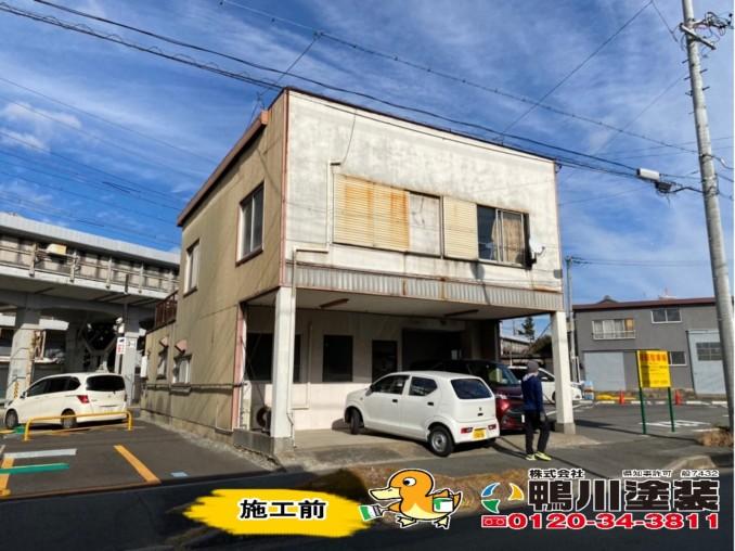 浜松市中区S様邸 外壁塗装工事