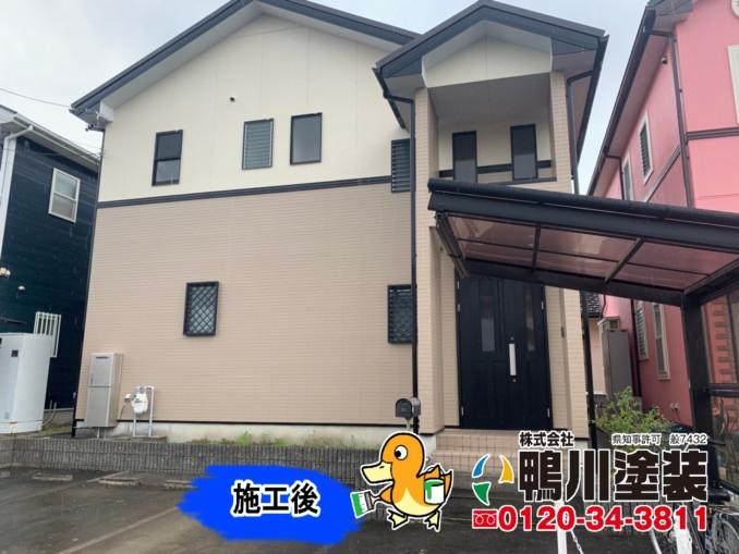 浜松市中区E様邸 外壁塗装工事