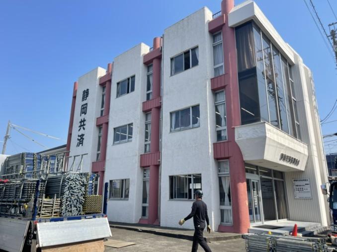 浜松市中区 会社事務所の塗装・防水工事