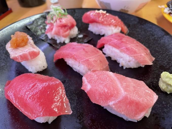 御寿司の大皿♪